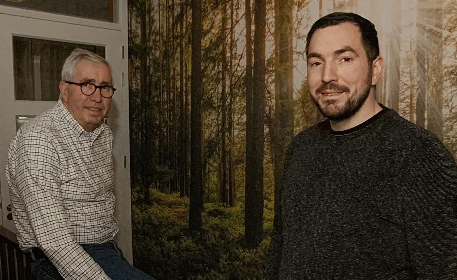 Fred en Hannes Hakvoort